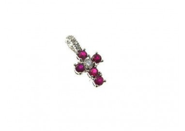 Cross with Rubies