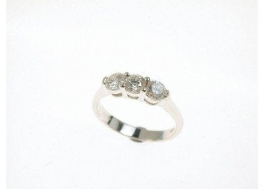 Anello Trilogy Simple 0.60 ct