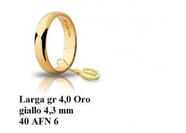 Wedding band Classic Larga...