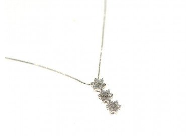 Brilliant Flowers Necklace