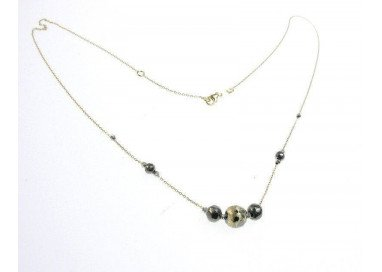 Necklace Black Ball