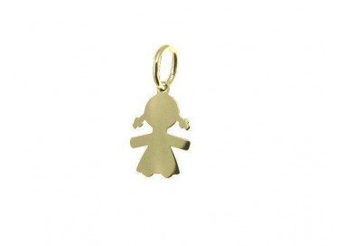 Plate Baby-Girl charm in...
