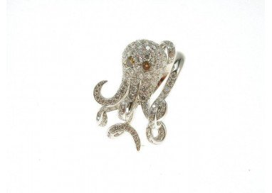 Octopus Ring Diamonds