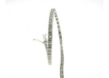 Small White Tennis Bracelet
