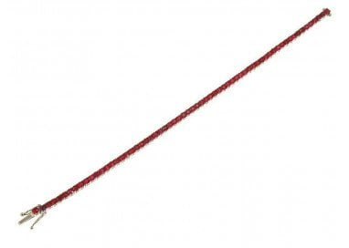 Bracciale Tennis Deep Red